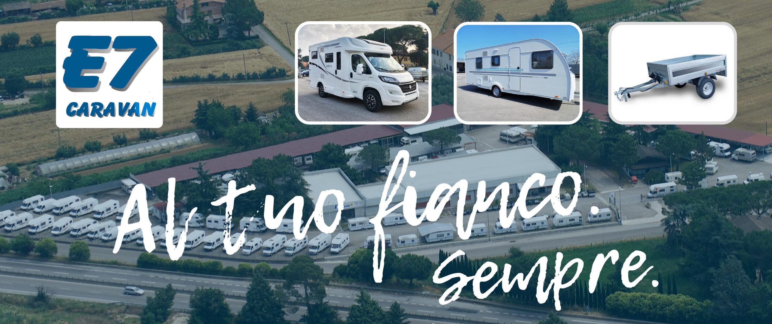 Camper e caravan nuovi e usati