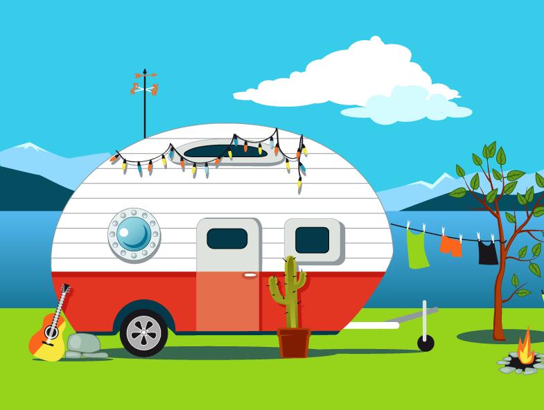 Scegliere un camper o una roulotte usati
