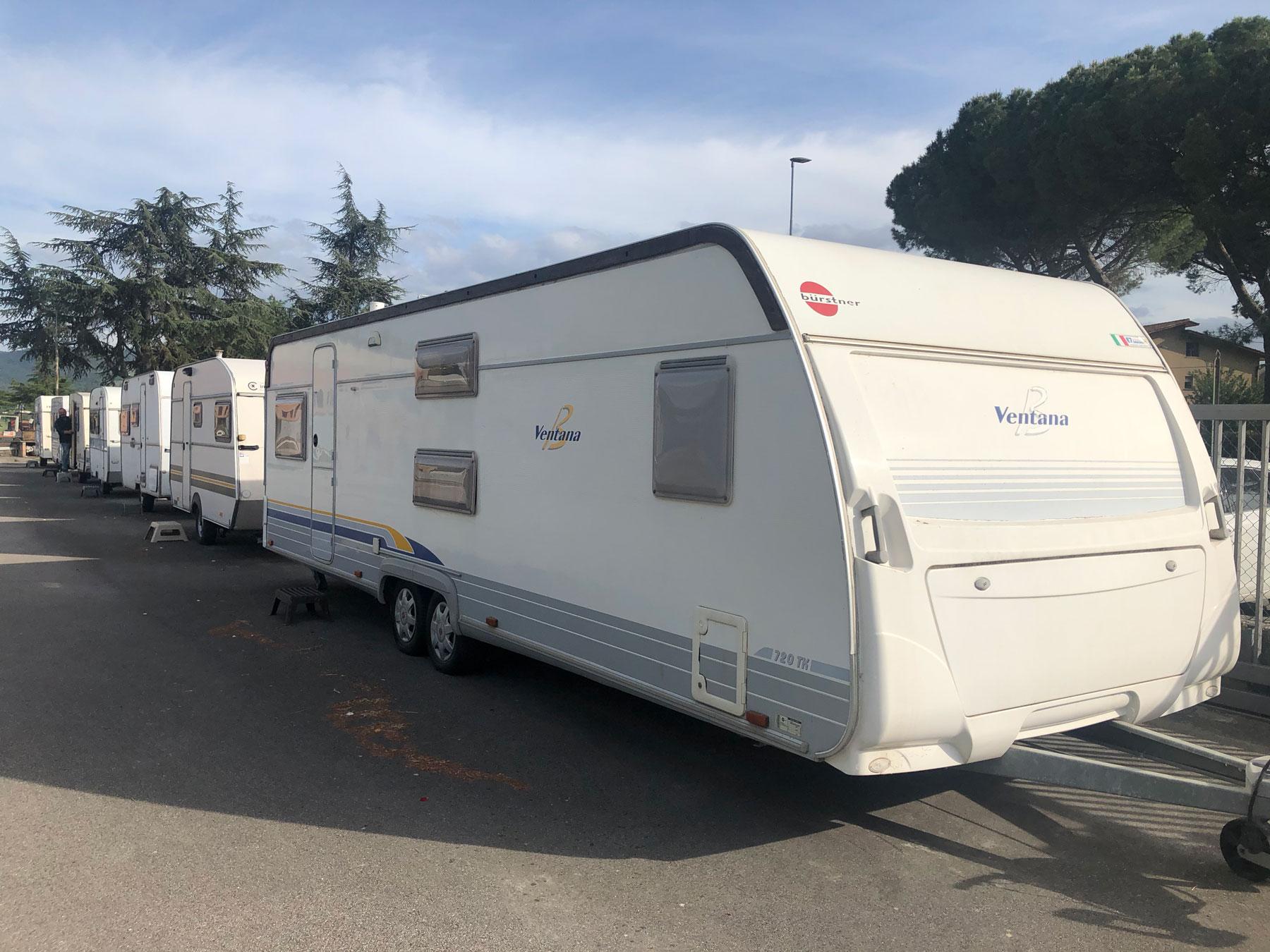 Roulotte e caravan nuove e usate