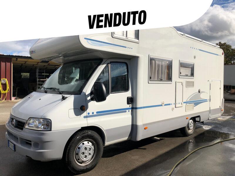 Adria Adriatik 660 SP mansardato 6 posti