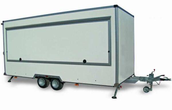 Rimorchio FM25 Cresci, ideale per mercati, food truck