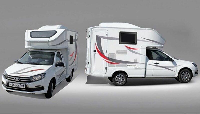 Lada Granta il mini camper low cost